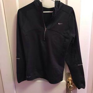 Black Nike Light Weight Jacket